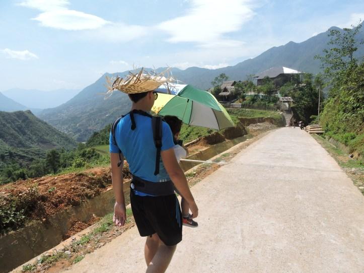 trekking toddler, sapa trekking