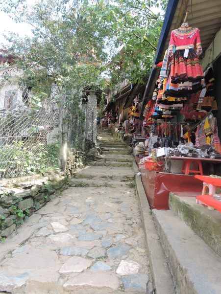 Passage way, Cat Cat Village, Sapa