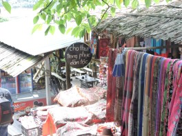 Shops in Cat Cat Village