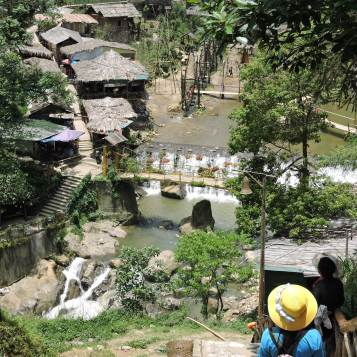 Waterfalls, Cat Cat Village