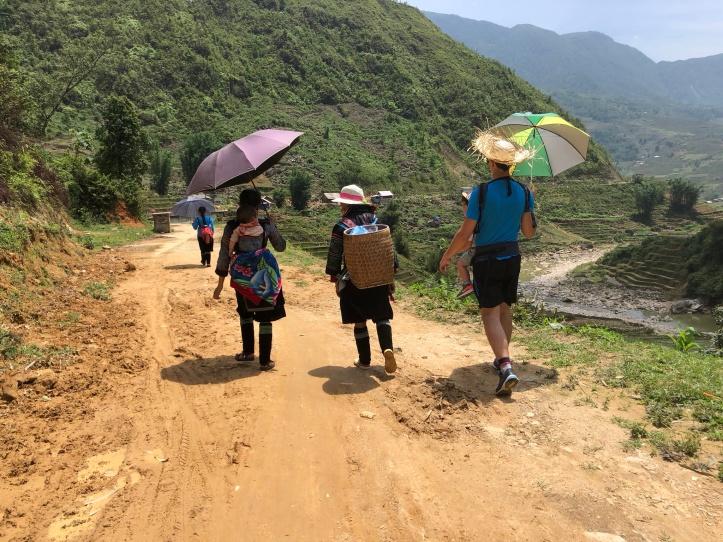 Trekking, Lao Chai, Sapa Valley